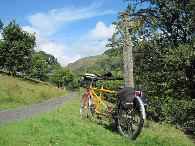 Wye Valley near Rhayader - cycling holiday with Wheely Wonderful Cycling